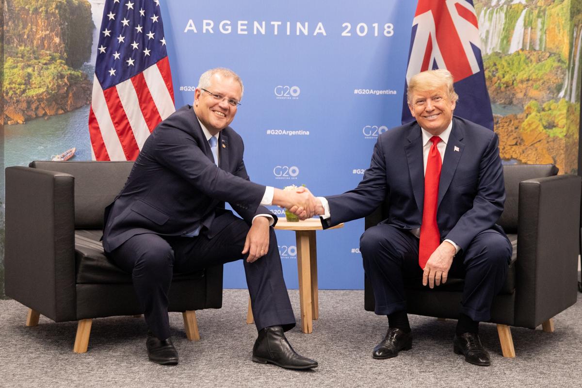 Australian Prime Minister Says Pandemic Is 'Upon Us' As Trump Downplays Coronavirus Risk