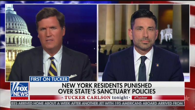 DHS Secretary Announces to Tucker: New Yorkers Will Now Suffer for Sanctuary Laws
