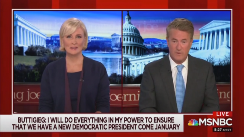 Joe Scarborough Compares Pete Buttigieg to George Washington and Frank Sinatra for 'Strategic Retreat'