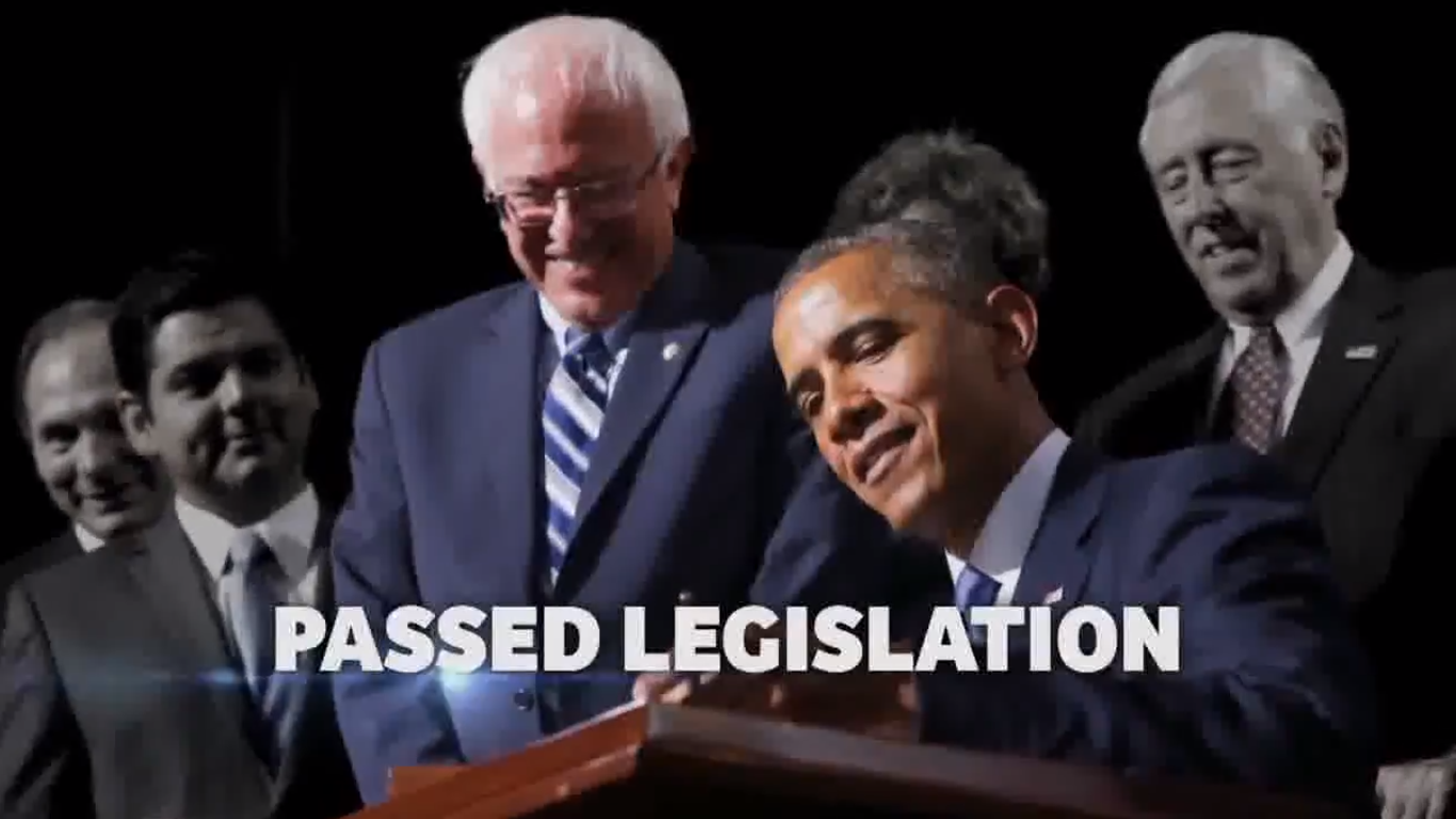 Bernie Sanders Is Running an Ad in Florida Featuring Barack Obama Praising Him
