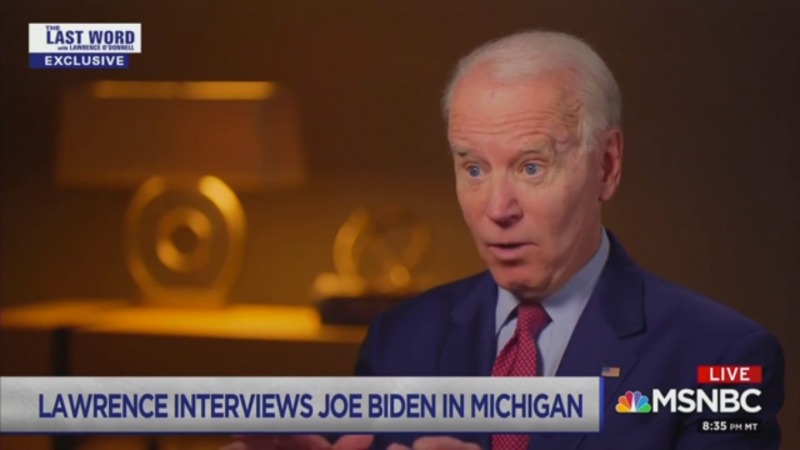 Joe Biden Says He Voted for the Iraq War 'To Try to Prevent a War from Happening'