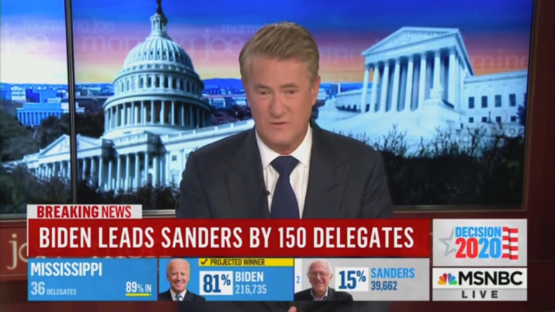 Joe Scarborough Mockingly Praises Trump Campaign for 'Freaking Out' about Biden Six Months Ago