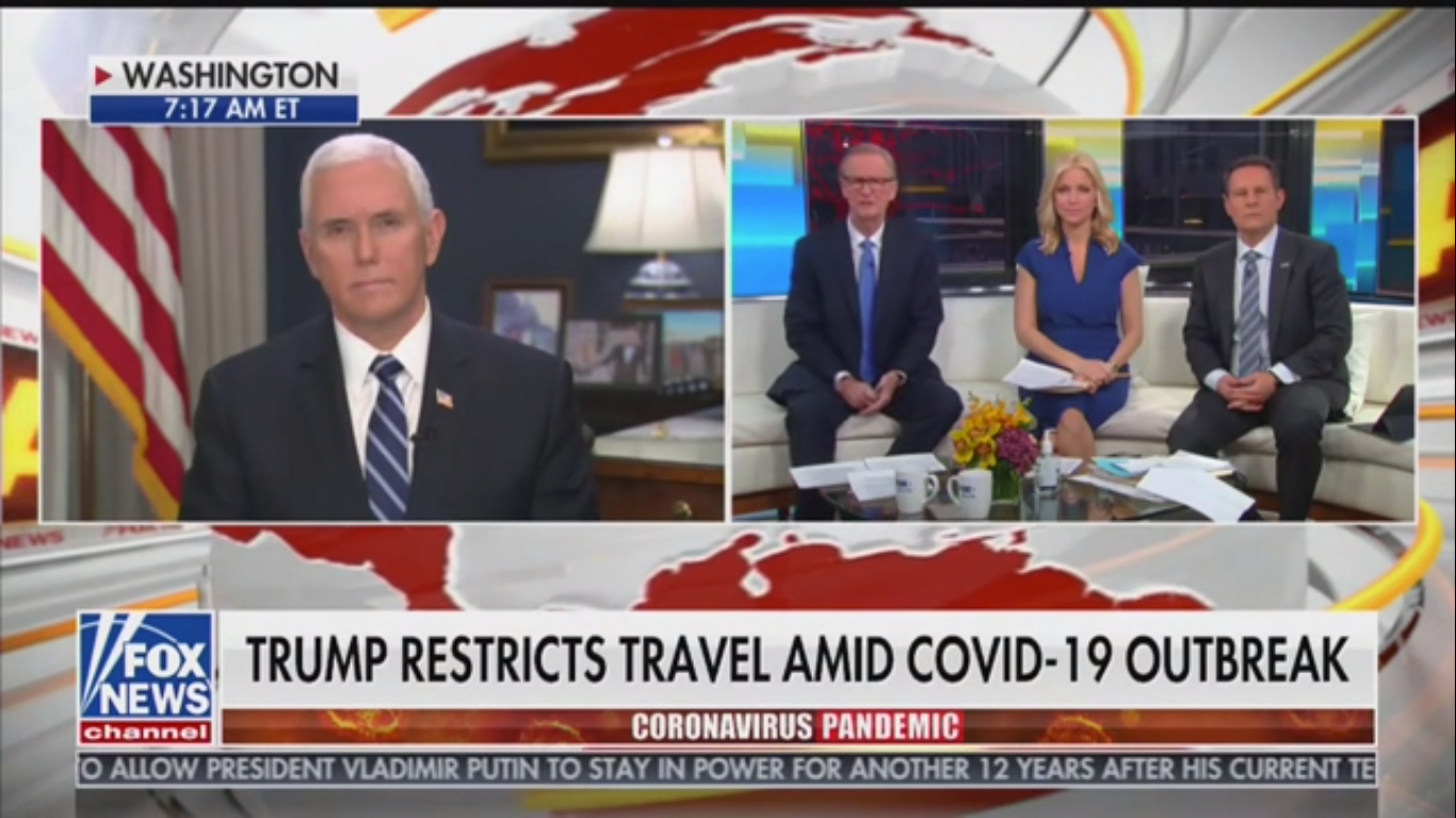 Mike Pence: Trump 'Has No Higher Priority Than the Health and Safety of the People'