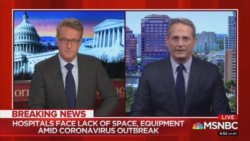 NBC Chief Medical Correspondent: The U.S. Doesn't Have Enough Ventilators for Coronavirus Outbreak