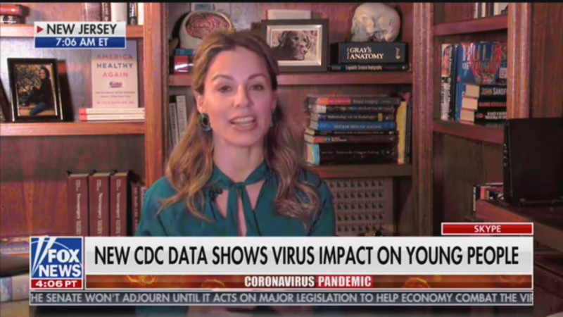 Fox Medical Contributor Blames Bad Parents, Young People for Spreading Covid-19: 'Like AOC Says, They Do Protests'