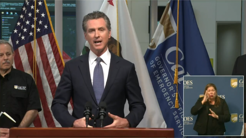 California Lockdown: Governor Gavin Newsom Issues Statewide 'Stay at Home' Order