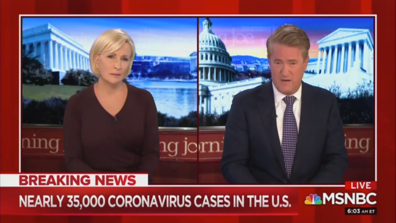 Mika Brzezinski: U.S. Is 'Flying Completely Blind' As Trump Lacks 'The Mentality to Lead Us'