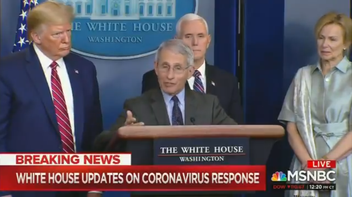 Trump Is Reportedly 'Losing His Patience' With Dr. Anthony Fauci