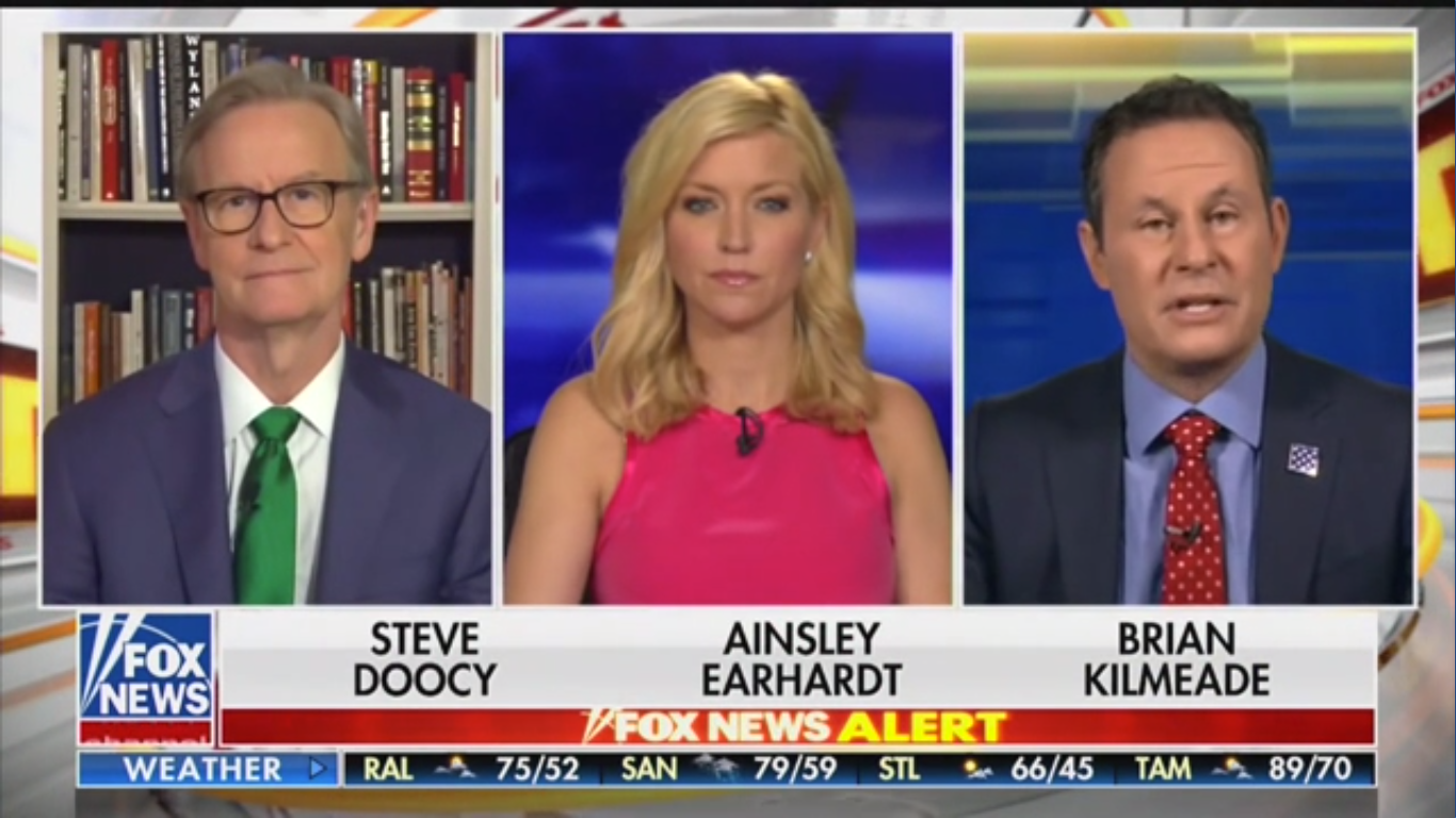 Fox News' Brian Kilmeade: Trump Has 'Been Working About 22 Hours a Day'