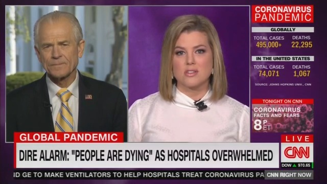 'You're Wasting Everyone's Time!' CNN's Brianna Keilar Scolds Peter Navarro on Coronavirus Response