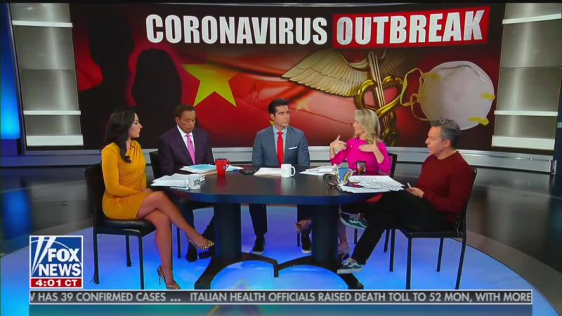 Fox News' Jesse Watters Wants China to Apologize for Coronavirus: 'They're Eating Raw Bats and Snakes!'