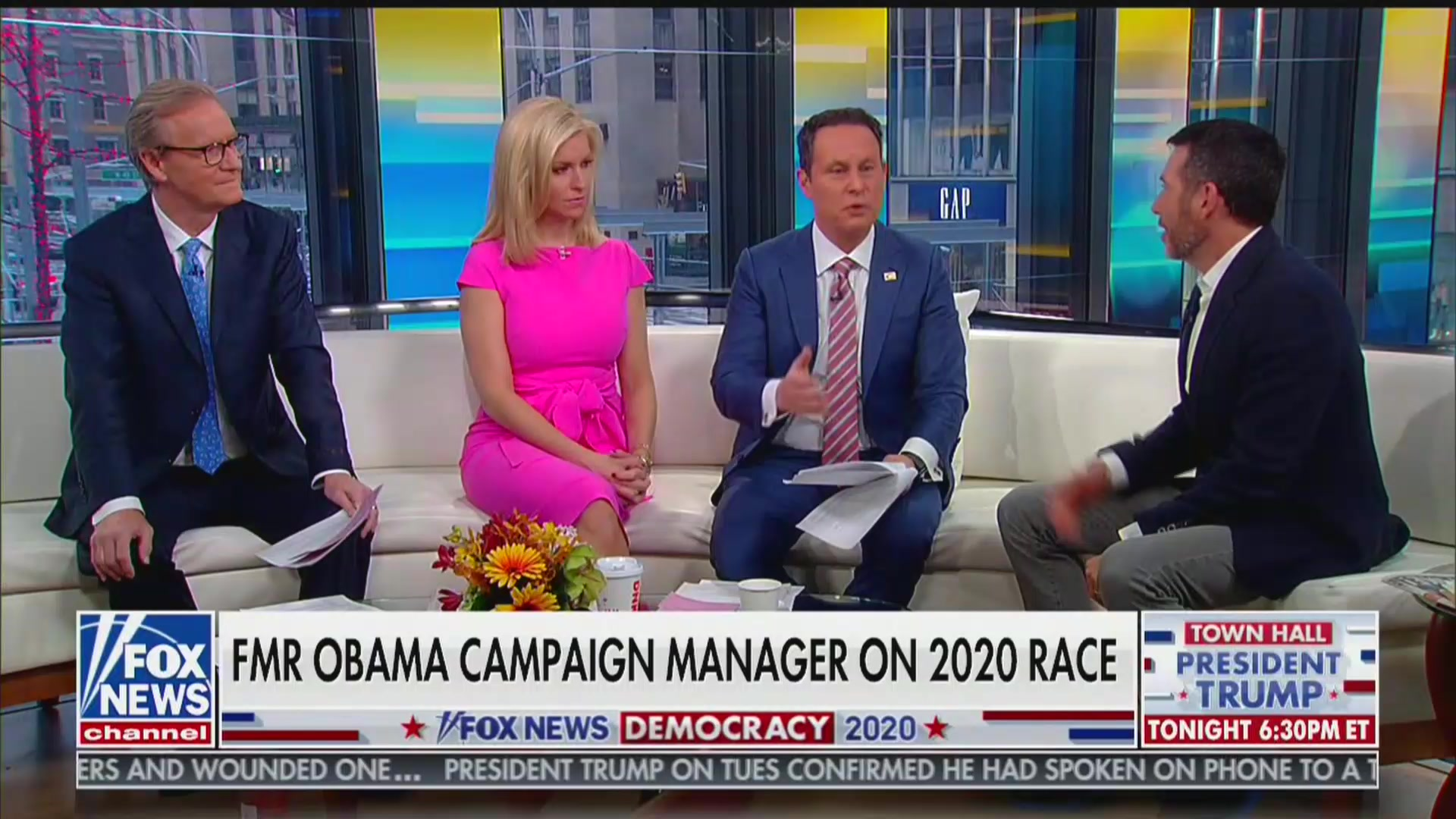 Brian Kilmeade Gets Defensive as Ex-Obama Campaign Manager Says Fox Is Trump's 'Happy Place'