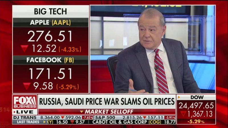 Fox Business Hosts Varney and Bartiromo Look Hopefully to a Biden Primary Victory to Calm Stock Market