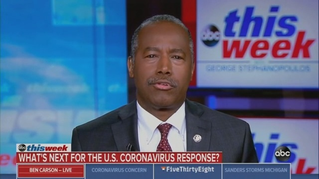 Ben Carson: I Can't 'Preview' Our Plan to Deal With the Grand Princess Passengers