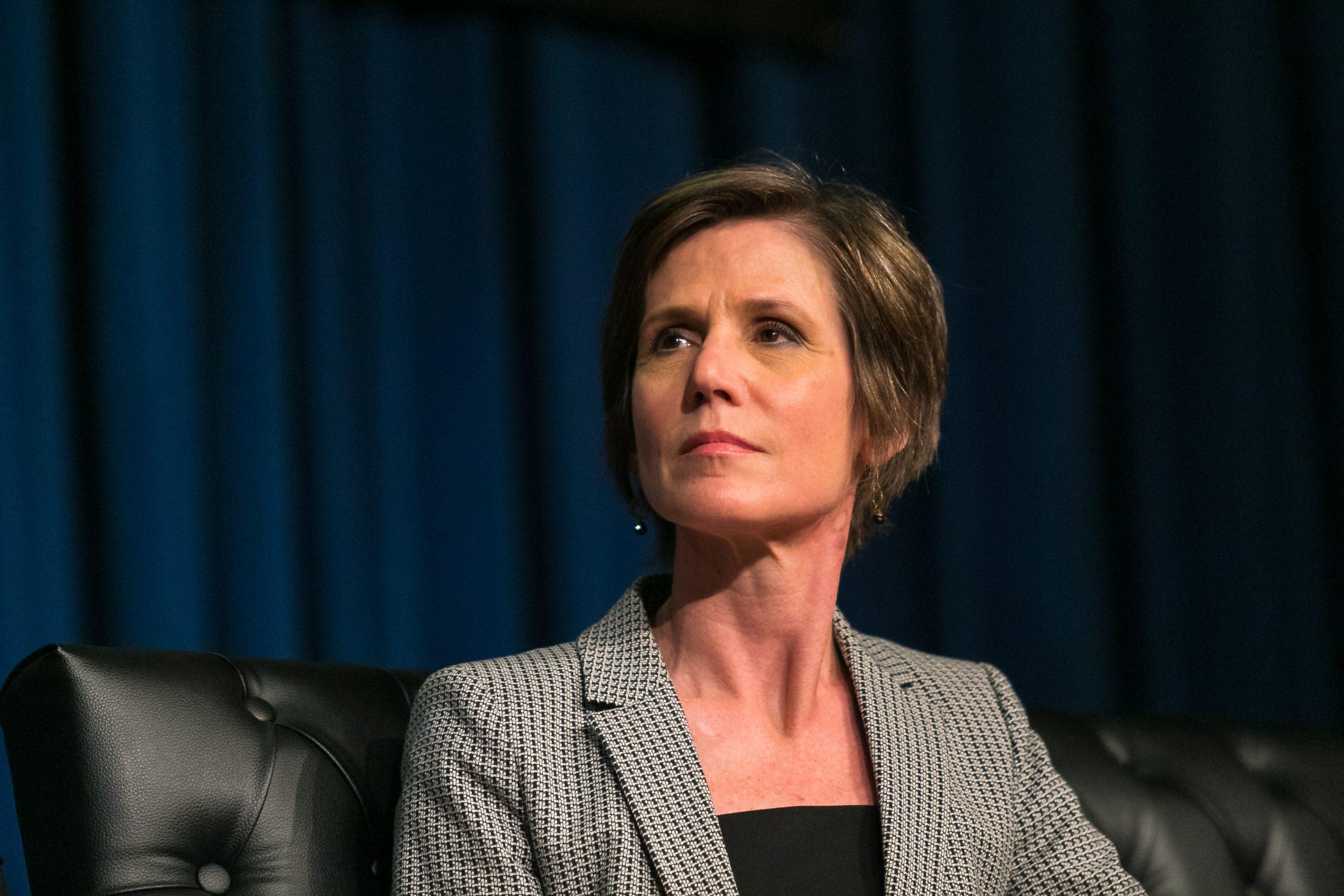 Sally Yates, Acting Attorney General Fired by Trump, Endorses Joe Biden