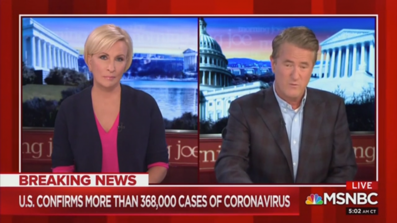 Joe Scarborough: 'A Cynic Might Think' Trump Administration Doesn't Want People Tested for Covid-19