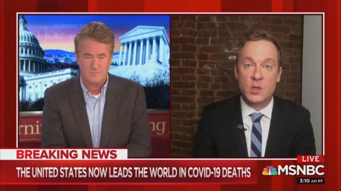 MSNBC's Jonathan Lemire: Trump Reacted Slowly to Coronavirus to 'Play Nice with Xi Jinping'