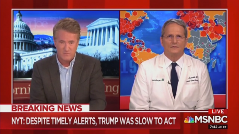 NBC'S Dr Dave Campbell: U.S Economy Is 'Not Reopening Anytime Soon'