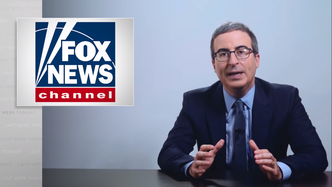 Watch: John Oliver Slams Limbaugh, Hannity and Ingraham for Coronavirus Disinformation