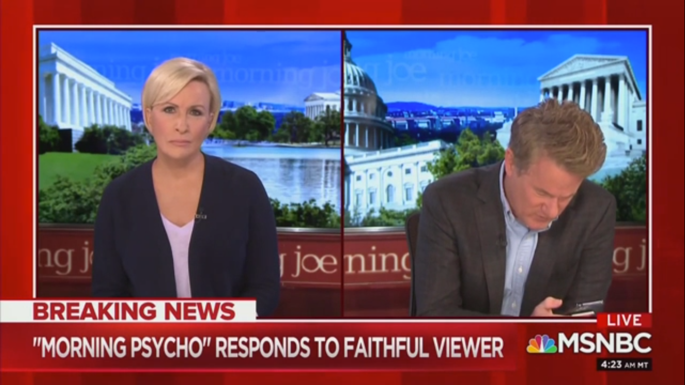 Joe Scarborough Mocks Trump for Tweeting About Him During a Pandemic