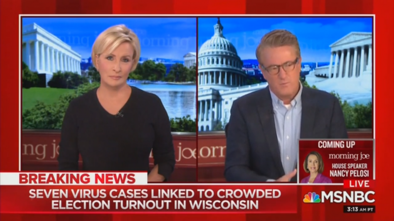 Joe Scarborough Jokes Biden Must Be Paying Wisconsin Republicans Because of Their 'Stupidity'