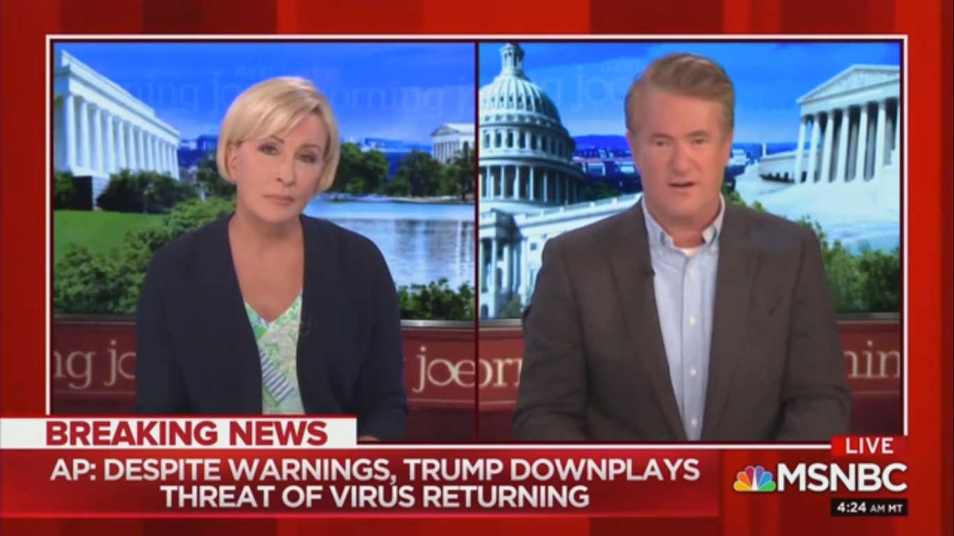 Joe Scarborough: Trump Seems 'Panicked' About 'Losing Support Among Senior Citizens'