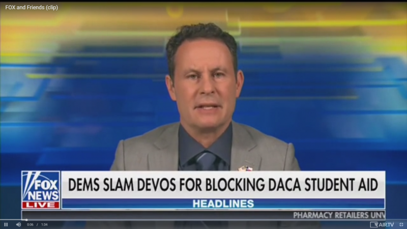 Fox's Brian Kilmeade Slams Universal Basic Income: Giving Money We Don't Have to People Who Do Nothing