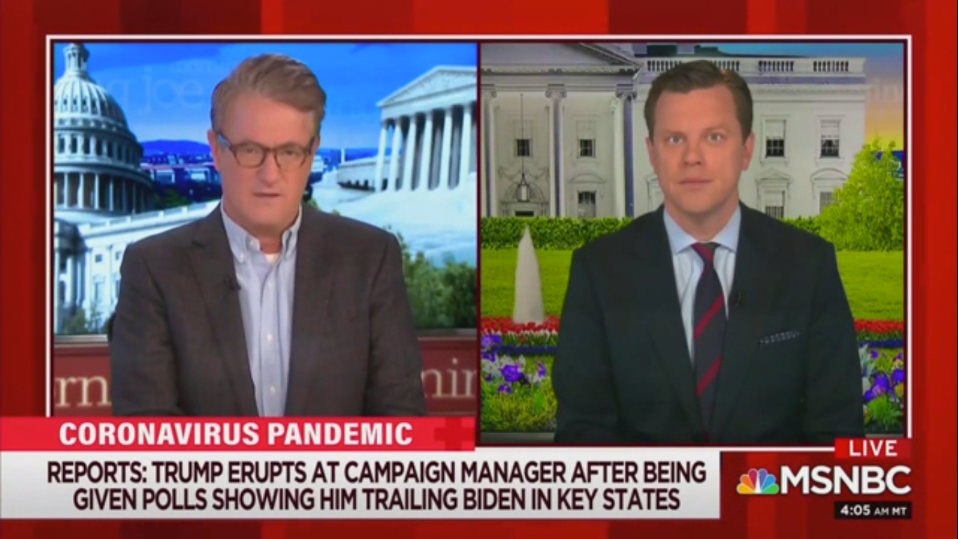 Joe Scarborough: Americans Are Noticing Trump's Cognitive Decline as His Poll Numbers Collapse