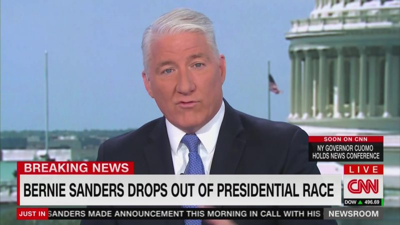 CNN's John King Falsely Accuses Bernie Sanders of Not Saying He'd 'Work With' Biden