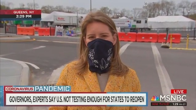 Katy Tur Rips 'Just Plain Dumb' Comments by Anti-Quarantine Protesters Comparing Coronavirus to the Flu