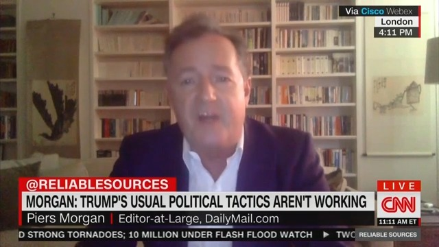 Piers Morgan Tears Into 'Friend' Trump Over His 'Self-Serving' Coronavirus Response