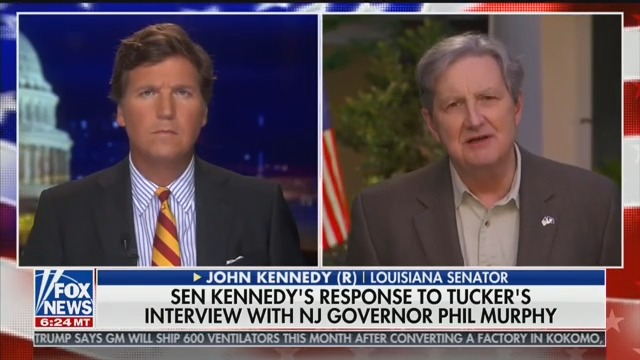 GOP Sen. Kennedy: We Have to Reopen Economy Soon, Even Though 'Virus Is Gonna Spread Faster'