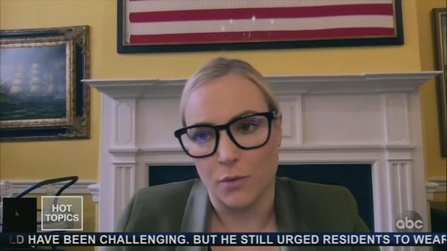 Meghan McCain: It Is 'Particularly' Insulting for Media to Press Dr. Fauci
