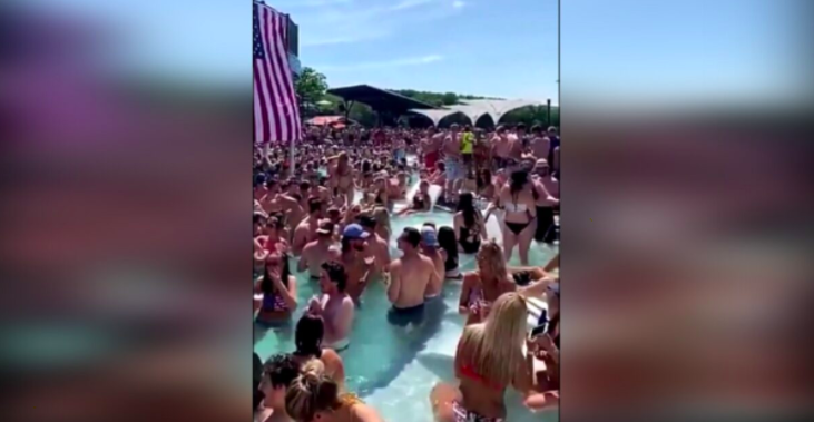 Person at Lake of the Ozarks Memorial Day Pool Party Tests Positive for Covid-19