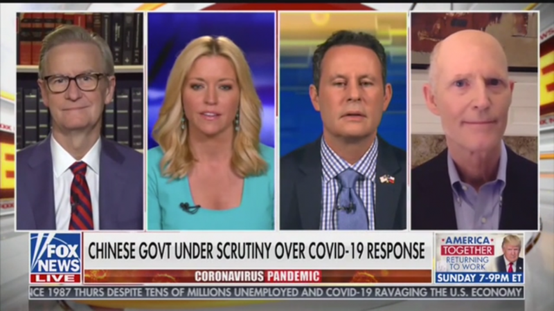 Fox's Ainsley Earhardt Tells Rick Scott to Go to China And 'Bring All Those American Businesses Back Home'