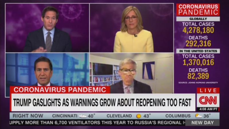 CNN's John Berman Mocks Tucker Carlson's Attacks on Fauci: He Knows Something About Being a Buffoon