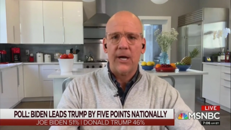 MSNBC's John Heilemann Blasts 'Trump TV': If Biden Is Senile, Why Is He Beating Trump?