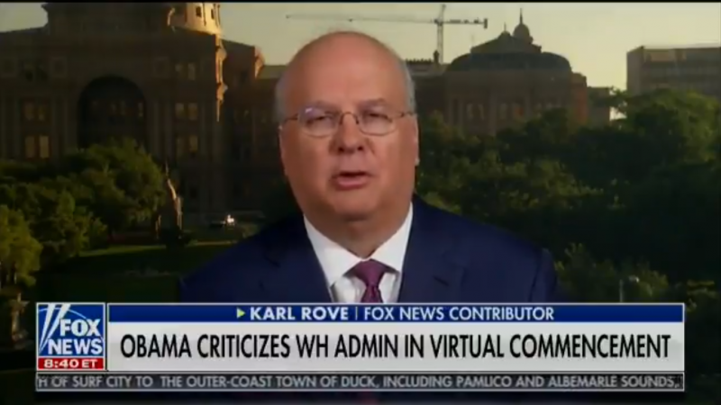 Karl Rove: Obama's Criticism of Trump Was 'Political Drive-By Shooting'