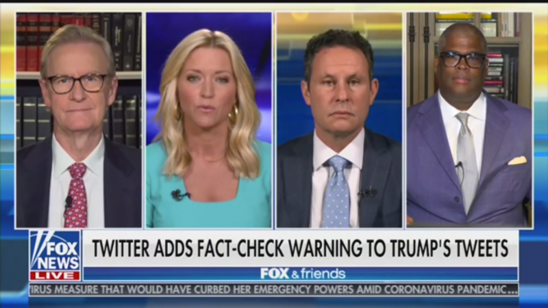 'Fox & Friends': Twitter Has 'Folded to the Left' by Fact Checking Trump