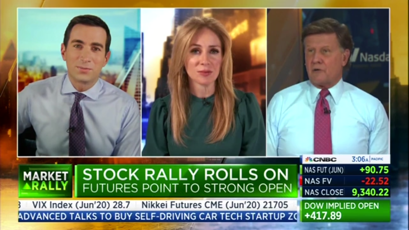 CNBC Host Slams Pro-Trump Joe Kernen Live on Air: 'You Abused Your Position!'
