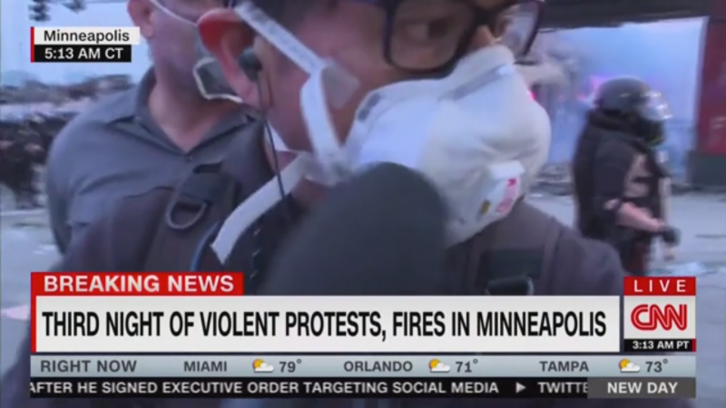 Minnesota State Patrol Arrests CNN Reporter During Live Report
