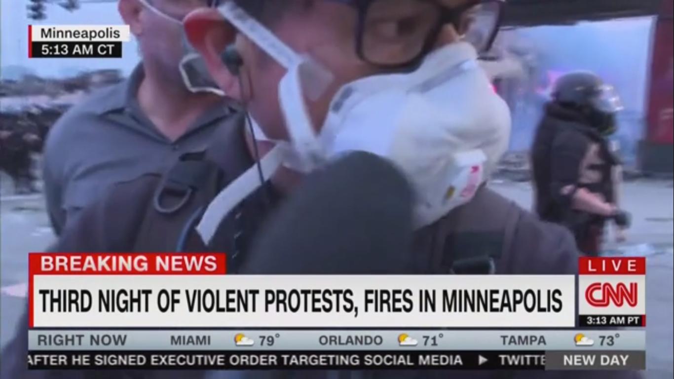 Minnesota State Patrol Arrests CNN Reporter During Live Report