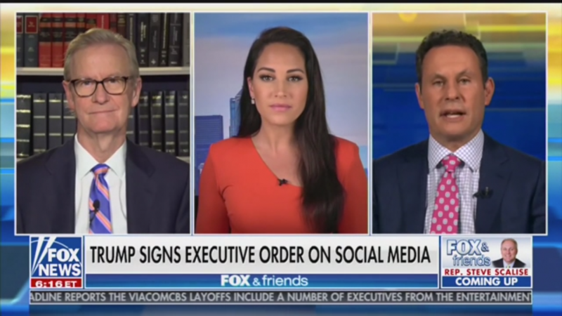 Fox's Brian Kilmeade Suggests Trump Add 'In My Opinion' to Tweets to Avoid Fact Check