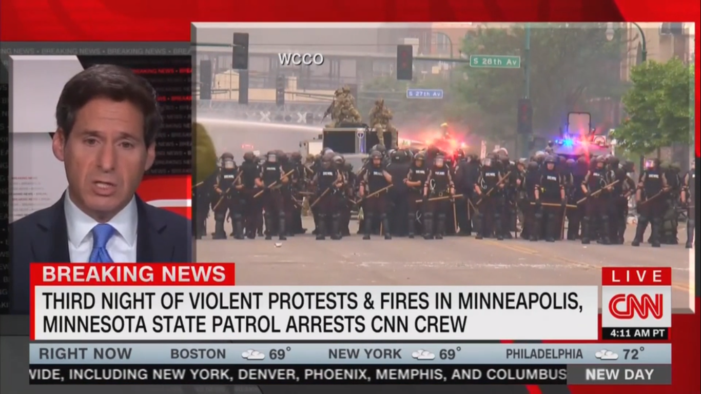 Minnesota Governor Apologizes to CNN President for Camera Crew Arrest