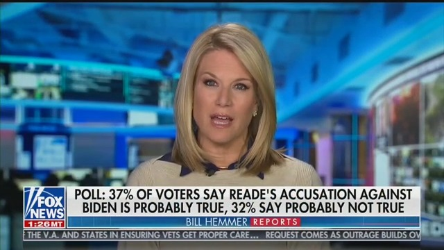 Fox News' Martha MacCallum Claims Tara Reade Allegations 'Drives a Stake Into the Heart' of #MeToo