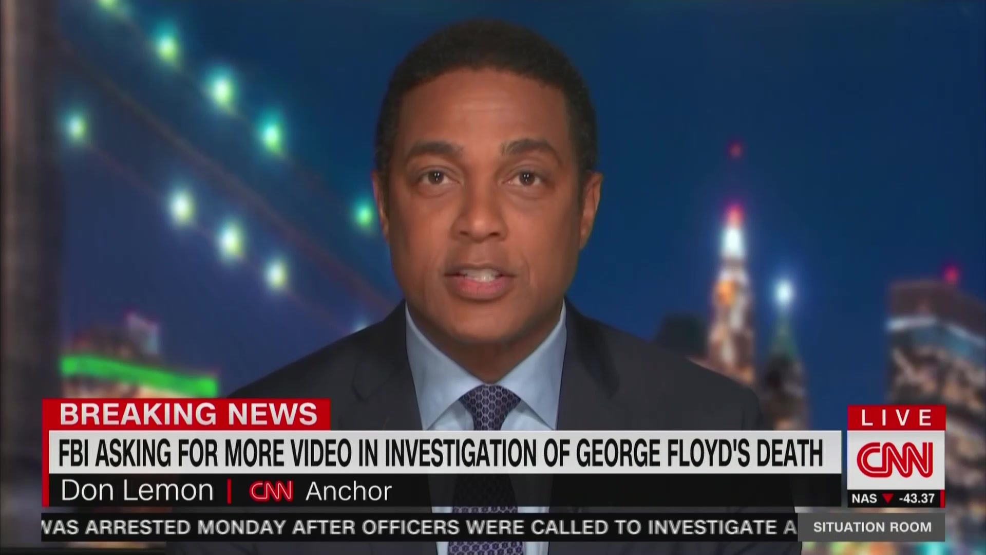 CNN's Don Lemon:  'No One Wants to Hear From the Birther-In-Chief' on George Floyd's Killing