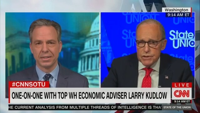 Kudlow Claims 'Virtually No One Could Have Predicted' Rapid Coronavirus Spread