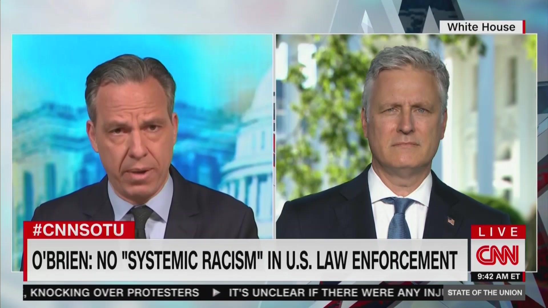 Robert O'Brien: 'A Few Bad Apples' In Law Enforcement, But No Systemic Racism