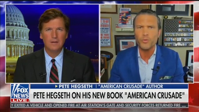 Fox's Pete Hegseth to Tucker Carlson: 'Say It With Me…The Kung Flu!'