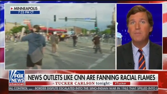 Tucker Carlson: Minneapolis Protests Over George Floyd's Death Are a 'Form of Tyranny'